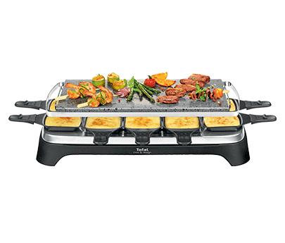 Tefal pierrade raclette f r 10 personen pr457812 for Kochen 10 personen